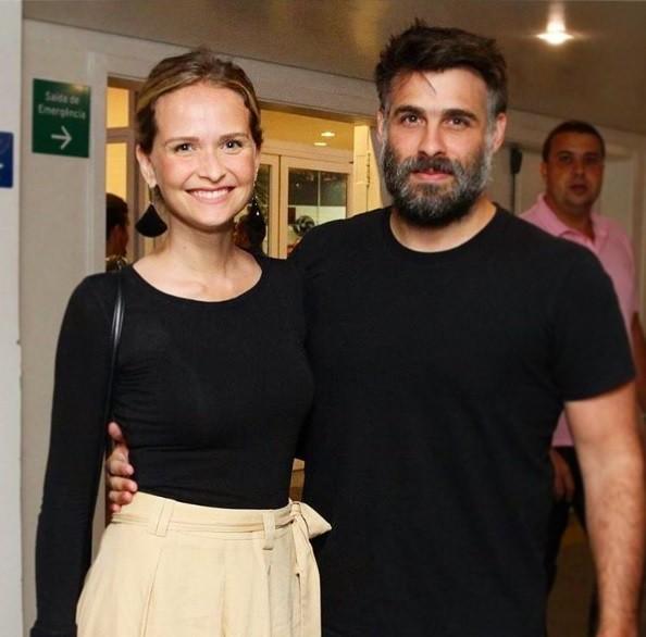 Fernanda Rodrigues e Raoni Carneiro (Foto: Reprodução / Instagram)