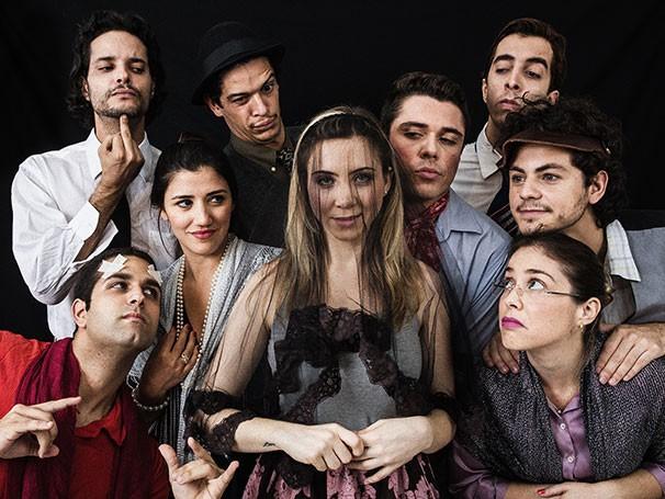 Elenco da nova montagem de 'Viúva, Porém Honesta' (Foto: Filipe Marques)
