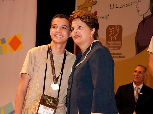 Augusto de Oliveira Lucas Neto vai receber da presidente Dilma Rouseff a medalha de ouro pela terceira vez. (Foto: Roberto Stuckert/PR)