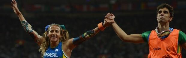 Amarradão paralimpíadas terezinha guilhermina (Foto: Getty Images)