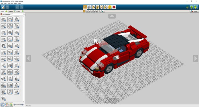 Importe o modelo para o LDD para modificá-lo ou converter o arquivo para o jogo (Foto: Reprodução/Tais Carvalho)