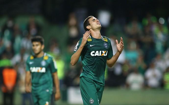 Coritiba Flamengo Thiago Galhardo (Foto: Giuliano Gomes/Agência PRPRESS)