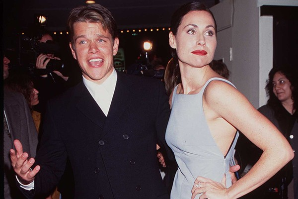 Matt Damon e Minnie Driver (Foto: Getty Images)