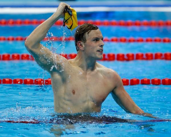 Kyle Chalmers, nadador australiano que foi medalhista de ouro no Rio 2016 (Foto: Getty Images)