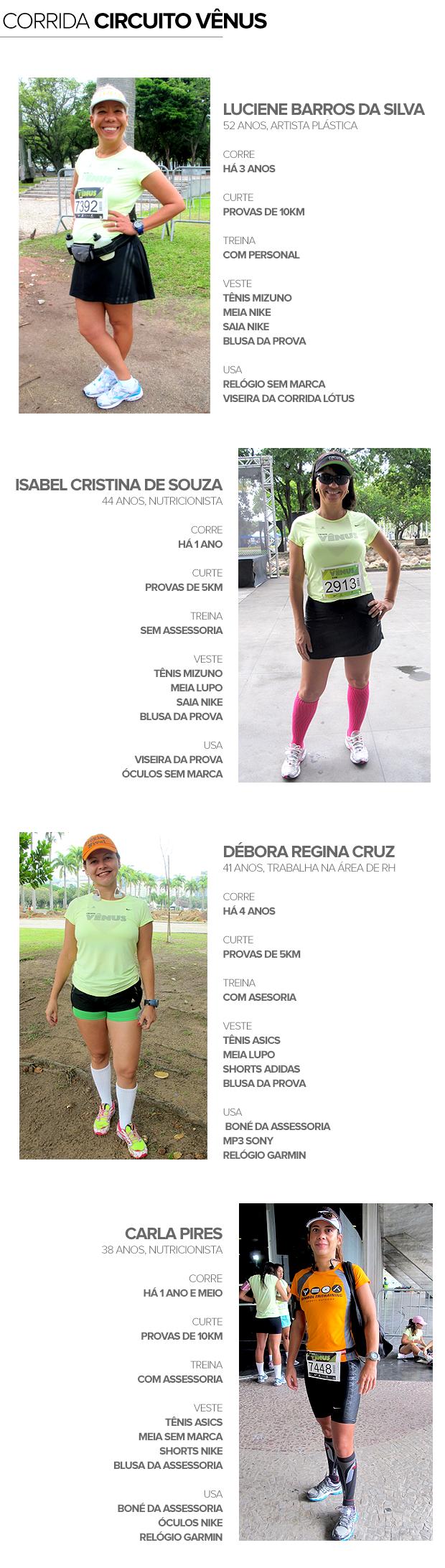 Eu Atleta Estilo Corrida Circuito Vênus (Foto: Editoria de Arte / Globoesporte.com)