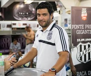 Felipe Moreira, interino Ponte Preta (Foto: Fabio Leoni/PontePress)