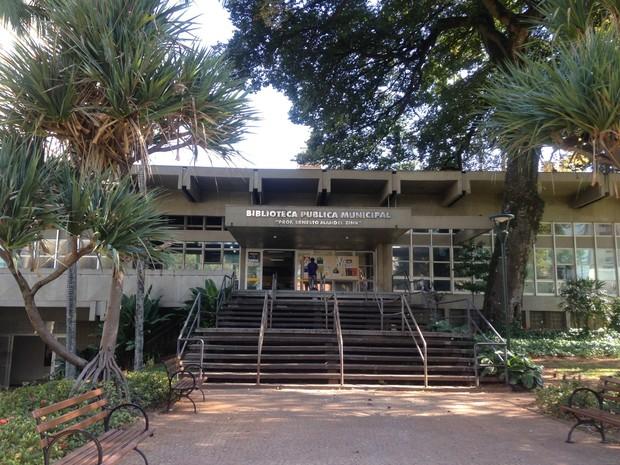 Biblioteca Municipal de Campinas (Foto: Clara Rios/G1)