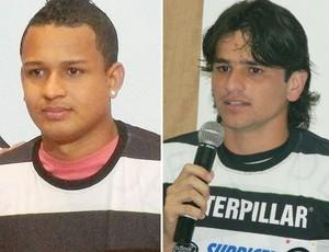 Tardelli e Ancelmo são dispensados pelo XV de Piracicaba (Foto: Editoria de Arte / Globoesporte.com)