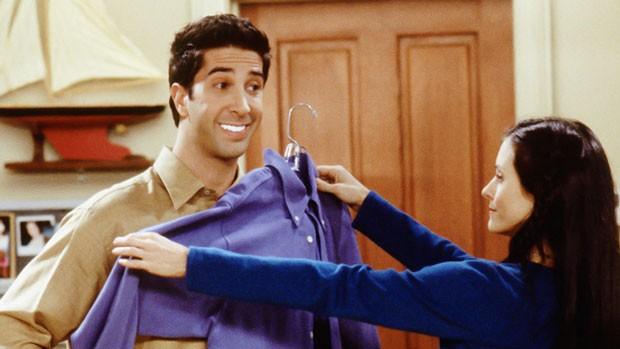 Não seja o Ross e tome cuidado na hora de clarear os dentes (Foto: Reprodução)