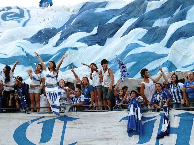 Mancha Azul, bloco que tem integrantes da torcida organizada do Avaí, pode não desfilar  (Foto: Jamira Furlani/Avaí FC)