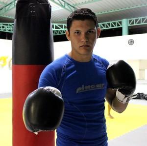 Deroci Barbosa, lutador de MMA Acre (Foto: João Paulo Maia)