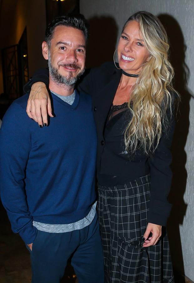 Adriane Galisteu e o marido, Alexandre Iódice (Foto: Manuela Scarpa/Brazil News)