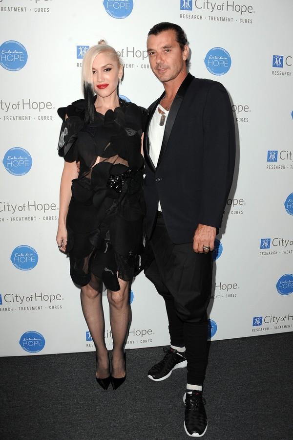 A cantora Gwen Stefani e o músico Gavin Rossdale  (Foto: Getty Images)