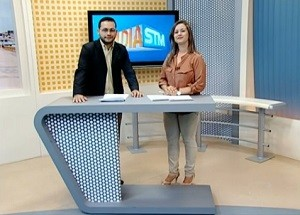 Jornalista Carlos Joseph volta à TV Tapajós (Foto: TV Tapajós)