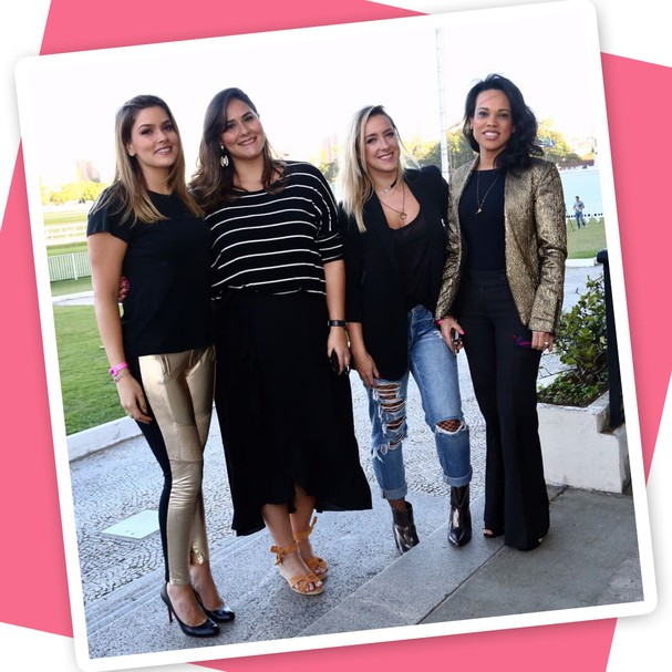 Marcella Tranchesi, Suzana Rodrigues, Debora Xavier e Gi Camargo (Foto: Roberto Filho)