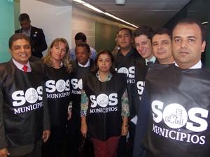 Quase 300 prefeituras da BA param em apoio a movimento contra crise (Foto: Divulgação / UPB)