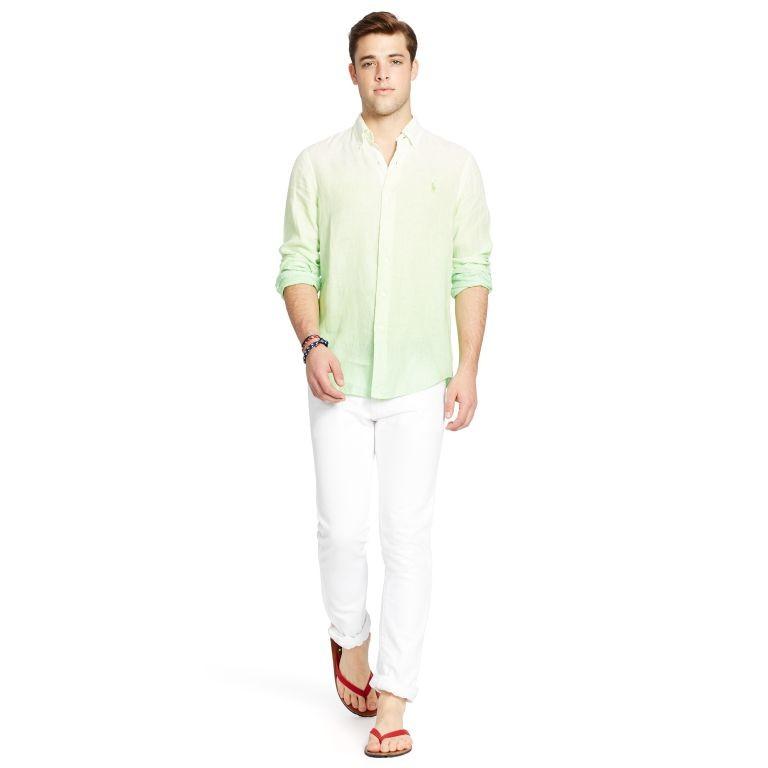 Camisa e calça de linho Polo Ralph Lauren (Foto: Divulgação)