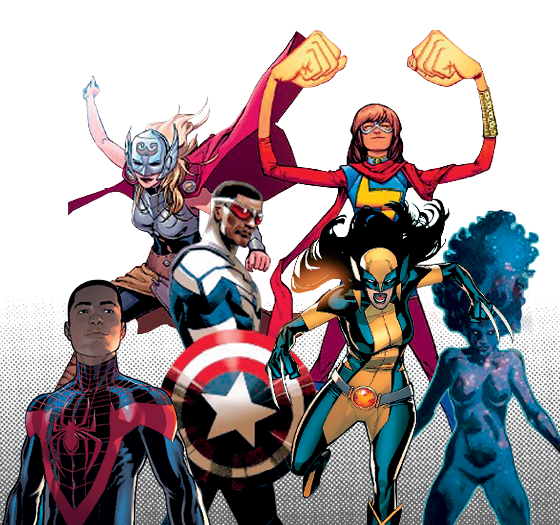 Personagens Marvel  (Foto: Divulgação)