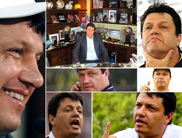 montagem entrevista Adilson técnico (Foto: Editoria de Arte / Globoesporte.com)
