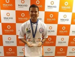 Daniel é o atual campeão alagoano (Foto: Reprodução/ FAFDV)