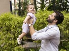 Sertanejo André festeja o primeiro Dia dos Pais: 'Filho só faz a gente crescer'