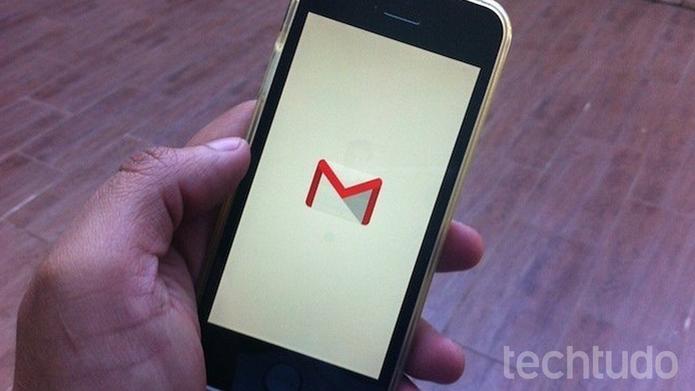 Como mudar o navegador padrão para abrir links no Gmail para iPhone (Foto: Marvin Costa/TechTudo)