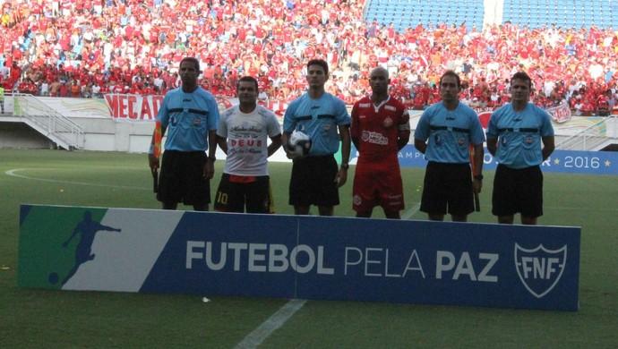 Pablo Ramon Gonçalves árbitro (Foto: Canindé Pereira)