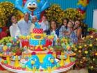 Luciele di Camargo e Denilson festejam aniversário do filho, Davi