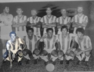 Heyder defendeu o Paysandu e foi campeão do Parazão de 1978 (Foto: Arquivo pessoal)