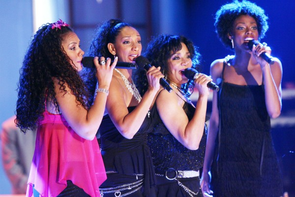 Kim Sledge, Debbie Sledge, Joni Sledge e Kathy Sledge (Foto: Getty Images)