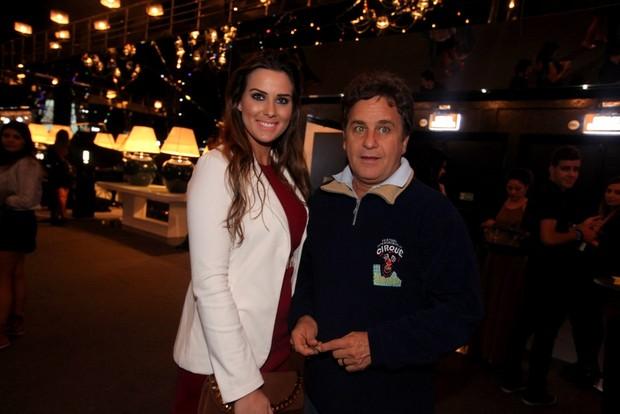 Marcos Frota com a namorada Priscila Vitorassi (Foto: Leo Franco / AgNews)