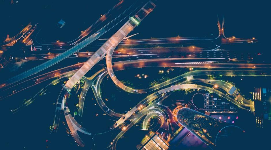 cidades inteligentes, urbanização, trânsito, cidades, urbanos (Foto: Reprodução/Pexels)