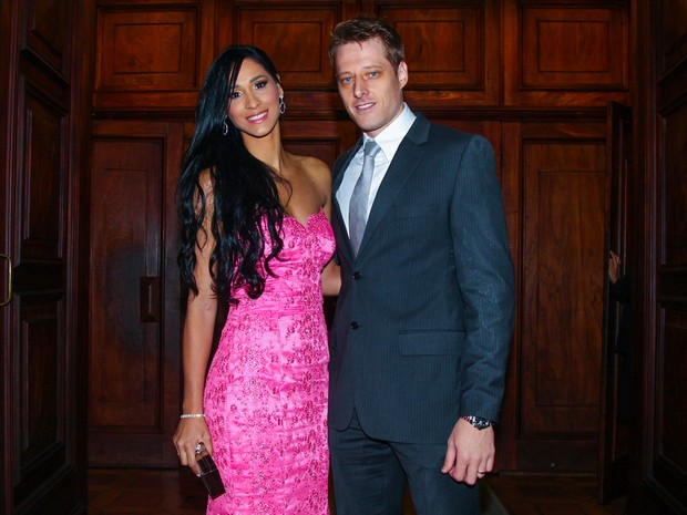 Jaqueline e Murilo em casamento em São Paulo (Foto: Manuela Scarpa/ Foto Rio News)
