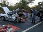 Mulher morre e cinco ficam feridos em acidente na MGT-135, em Mirabela