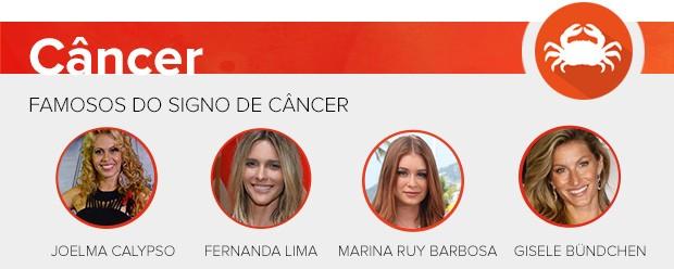 Previsão - câncer (Foto: Ego)