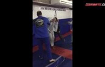 BLOG: Peso-médio do UFC, Thiago Marreta leva surra de faixas em corredor polonês