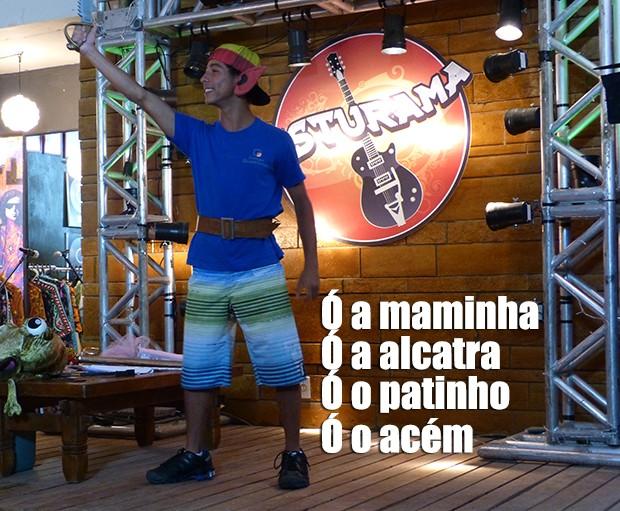 Ó maminha, ó picanha... (Foto: Malhação / TV Globo)