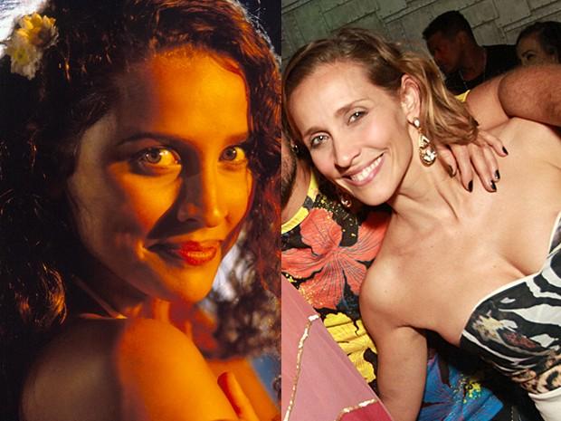 Gabriela Alves era a doce Glorinha, irmã e protetora de Tonho da Lua (Foto: Vídeo Show / Gshow)