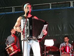 Cezzinha, sanfoneiro (Foto: Katherine Coutinho/G1)