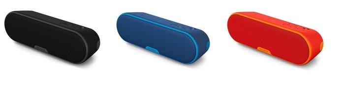 Caixa de som Srs-Xb2 da Sony é ideal para usar em casa (Foto: Divulgação/Sony)