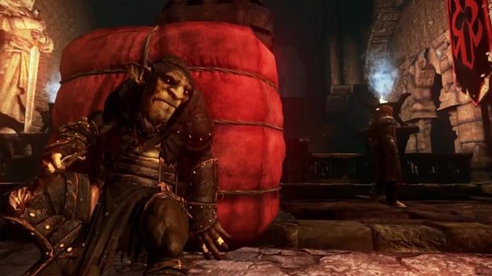 Styx: Master of Shadows traz jogo de sombras e stealth para o PlayStation 4 (Foto: Reprodução/Fully Avin It)