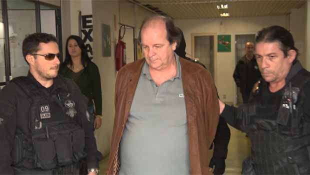 Ele foi preso nesta quinta-feira (2) na 15ª fase da Operação Lava Jato. (Foto: Reprodução/RPC)