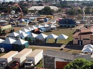 Expoagro em Cuiabá (Foto: Otmar de Oliveira)