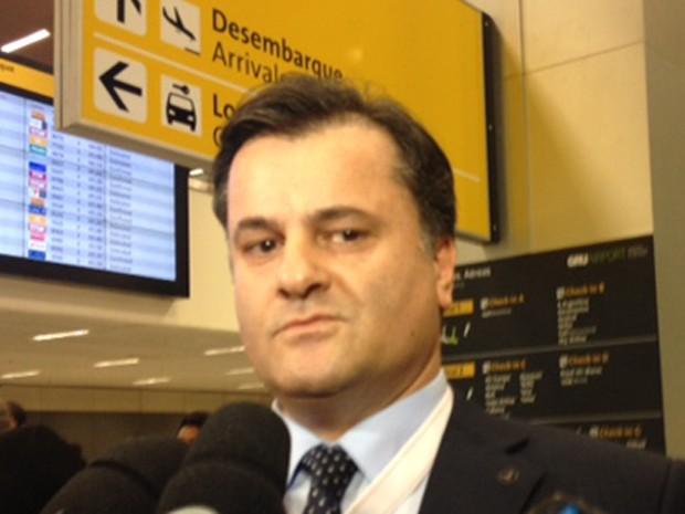 Diretor geral da companhia área, Atagun Kutlyuksel  (Foto: Paulo Toledo Piza/G1)