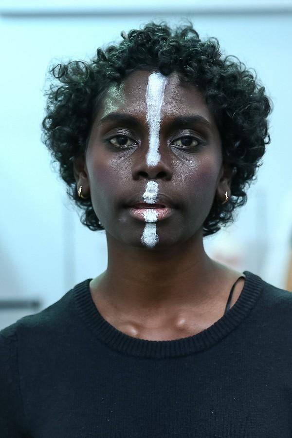 A australiana Magnolia Maymuru, de 20 anos,  (Foto: Ag News)
