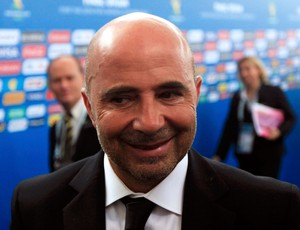 Jorge Sampaoli treinador do Chile (Foto: Reuters)