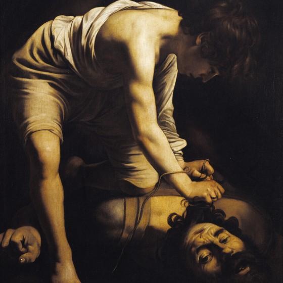 Davi com cabeça de Golias,de Caravaggio (Foto: DeAgostini/Getty Images)