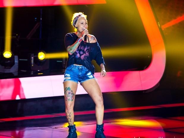 Luana Camarah aposta no som do rock  (Foto: Isabella Pinheiro/TV Globo)