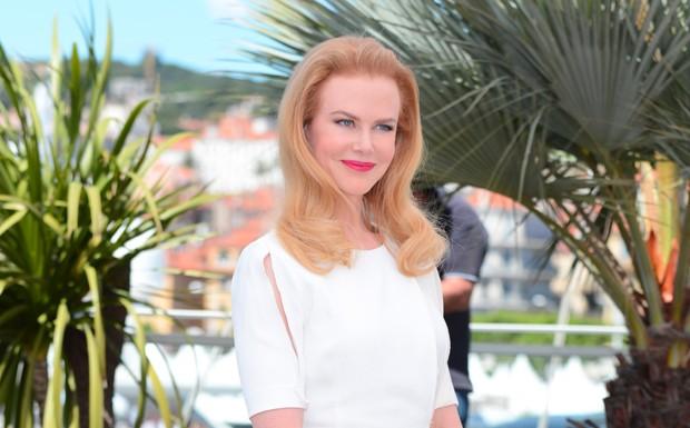 Nicole Kidman em coletiva de Grace de Mnaco (Foto: AP Images)