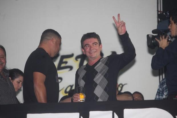 Andrés Sánchez, ex-presidente do Corinthian (Foto: Leo Franco / Agnews)